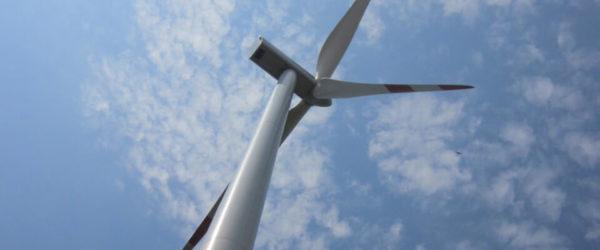 Az ALTEO 2008 decemberében üzembe helyezett jánossomorjai szélerőműve.