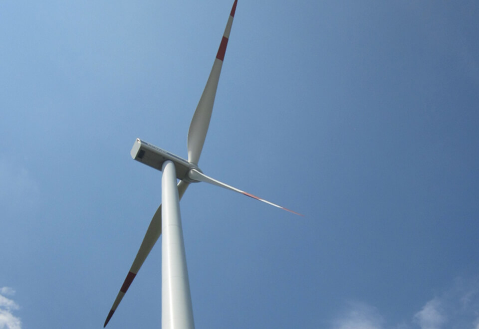Purchase of 1 wind turbine</br> May 2013