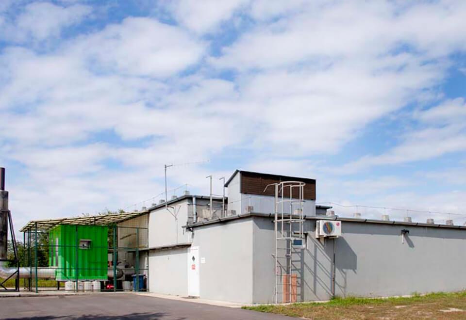 Landfill Gas Power Plant in Debrecen</br>August 2017