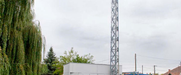 Az ALTEO Nyrt. kisújszállási kísérőgáz-hasznosító kiserőmőve.