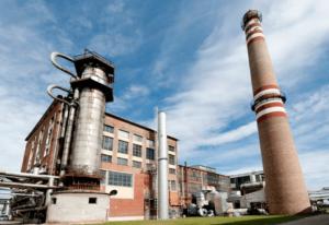 Az ALTEO soproni hő- és villamosenergia-termelő erőműve.