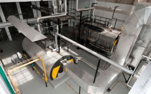 A soproni erőmű kazánjai gázzal vagy fűtőolajjal egyaránt üzemeltethetők.