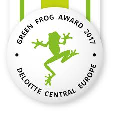 Első Fenntarthatósági Jelentésünk a Deloitte Magyarország Zöld Béka Díját kapta meg.