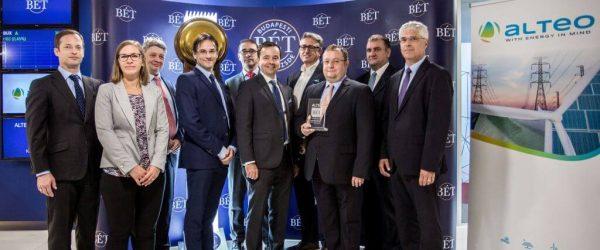 Az ALTEO a Standard kategóriából bekerült a Budapesti Értéktőzsde legmagasabb, Prémium kategóriájába.