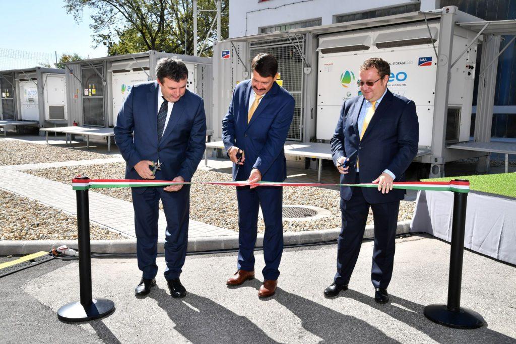 Saját fejlesztésű, ipari energiatárolós projekt</br>2019.09.13